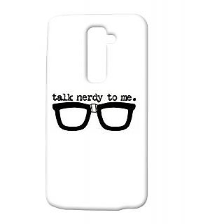 Pickpattern Back Cover For Lg G2 NERDYLOOKLGG2-15045
