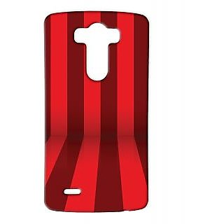 Pickpattern Back Cover For Lg G3 RED3DLGG3-12827