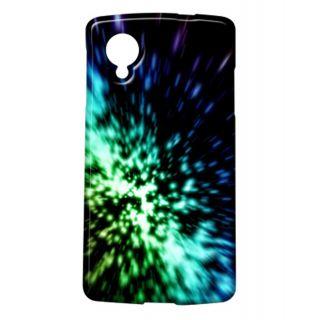 Pickpattern Back Cover For Lg Google Nexus 5 SHINNYBLUEN5-14788