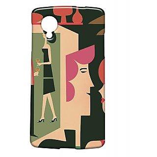 Pickpattern Back Cover For Lg Google Nexus 5 MOCKTAILN5-13779