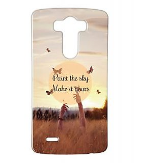 Pickpattern Back Cover For Lg G3 PAINTTHESKYLGG3-12774