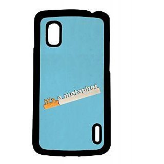 Pickpattern Back Cover For Lg Google Nexus 4 METAPHORN4-17166