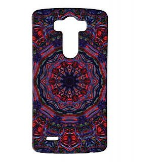Pickpattern Back Cover For Lg G3 BLUEHORRORLGG3-12810