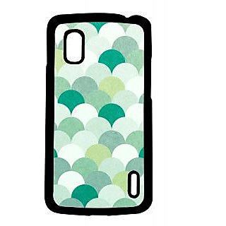 Pickpattern Back Cover For Lg Google Nexus 4 SHADESGREENN4-16160