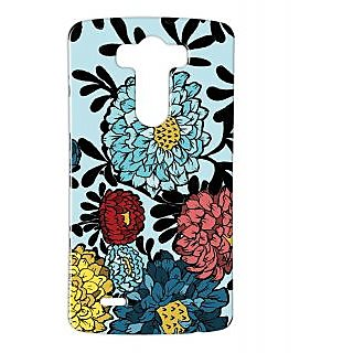 Pickpattern Back Cover For Lg G3 COLORMARIGOLDLGG3-12724