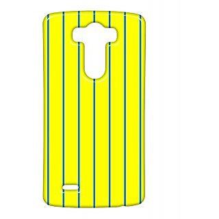 Pickpattern Back Cover For Lg G3 HORIZONTALYELLOWLGG3-13441