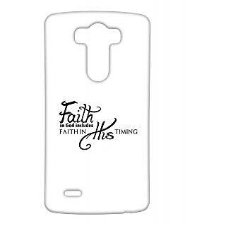 Pickpattern Back Cover For Lg G3 FAITHLGG3-13760