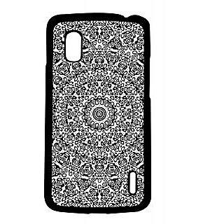 Pickpattern Back Cover For Lg Google Nexus 4 GREYISHDESIGNN4-17034