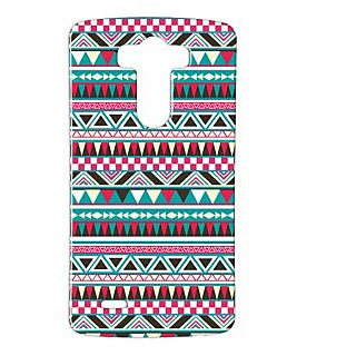 Pickpattern Back Cover For Lg G3 PUZZLETWISTLGG3-12705