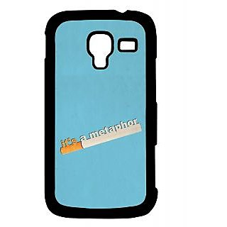 Pickpattern Back Cover For Samsung Galaxy Ace 2 I8160 METAPHORACE2
