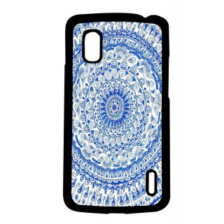 Pickpattern Back Cover For Lg Google Nexus 4 BLUECIRCLEN4-16786