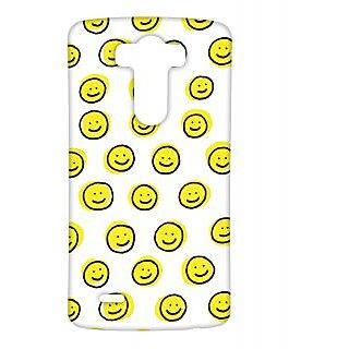 Pickpattern Back Cover For Lg G3 SMILEYLGG3-12665