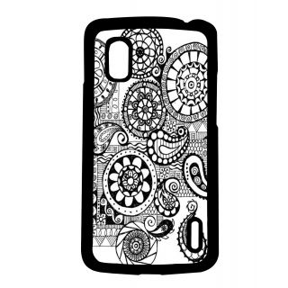 Pickpattern Back Cover For Lg Google Nexus 4 ITSEITHERBLACKORWHITEN4-17081