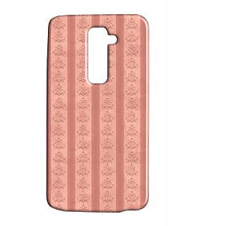 Pickpattern Back Cover For Lg G2 PINKISHLINESLGG2-15095