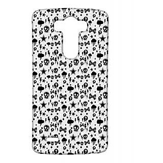 Pickpattern Back Cover For Lg G3 PANICSTORYLGG3-12925