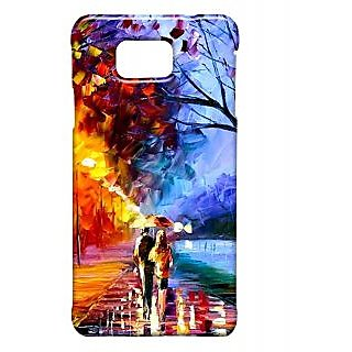 Pickpattern Back Cover For Samsung Galaxy Alpha MONSOONMASTISALP