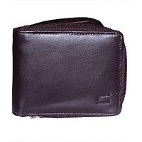 Cops Brown Genuine Leather Gentswallet (CPSWLFCL2050BRN)