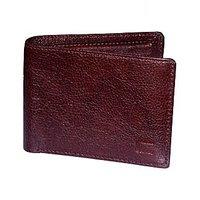 Cops Brown Genuine Leather Gentswallet (CPSWLNDM2006BRN)