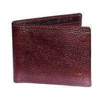 Cops Brown Genuine Leather Gentswallet (CPSWLNDM2013BRN)
