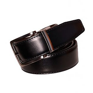 Black Artificial Leather Gents Belt CPSBTFK35024R34