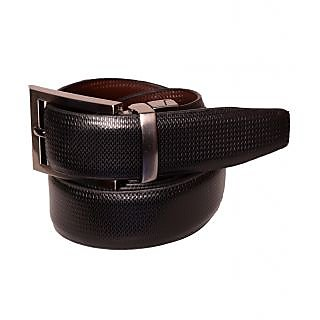 Black Genuine Leather Gents Belt CPSBTRK30021R34