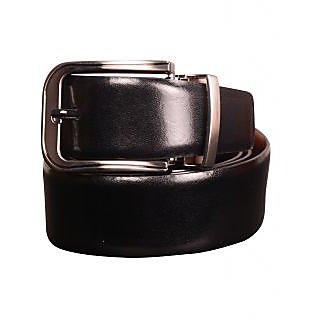 Black Genuine Leather Gents Belt CPSBTRK35001R34