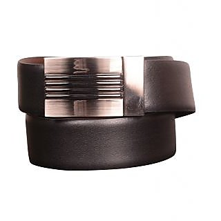 Black Genuine Leather Gents Belt CPSBTRP35005R34