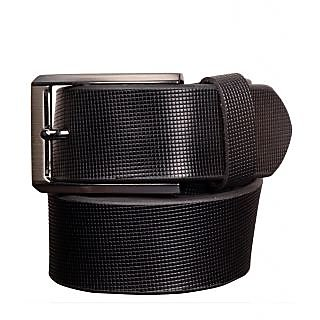 Black Genuine Leather Gents Belt CPSBTSK35010SBLK34