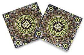 Wheeler Moroccan Glass Coaster