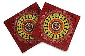 Obsessing Warli Coasters