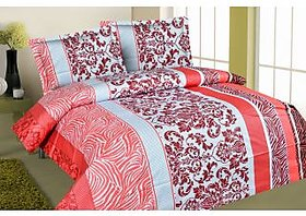Zigma Collections Color Of Dreams 100% Cotton Double Bedsheet