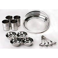 16 Pcs Stainless Steel Dinner Set