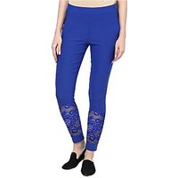 BlueJegging with Net Style