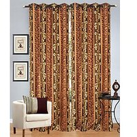 JBG Home Store Set Of 2 Beautiful Door Curtains( 4 X 7 Ft) - 3 Options