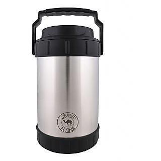Camel 1800ML Stainless Steel Silver Tiffin