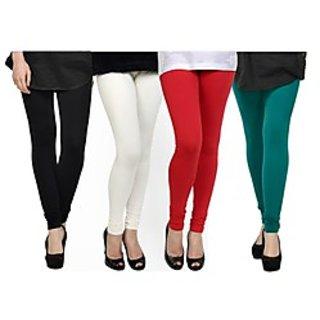 Kjaggs Multi-Color Cotton Lycra Full length legging (KTL-FR-1-2-3-12)