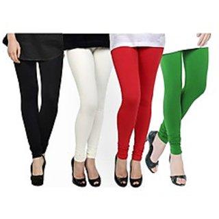 Kjaggs Multi-Color Cotton Lycra Full length legging (KTL-FR-1-2-3-4)