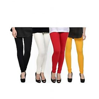 Kjaggs Multi-Color Cotton Lycra Full length legging (KTL-FR-1-2-3-5)