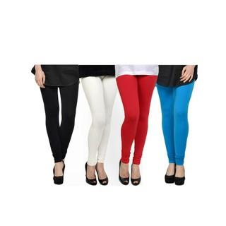Kjaggs Multi-Color Cotton Lycra Full length legging (KTL-FR-1-2-3-9)