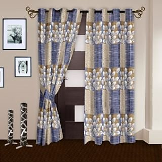 StoryHome white Door Curtain Nature-DNR2062