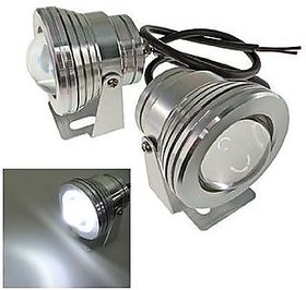 Car Fog Lamp Projectors Lens 10 Watt super power led 1 set like HID XENON, 6000k