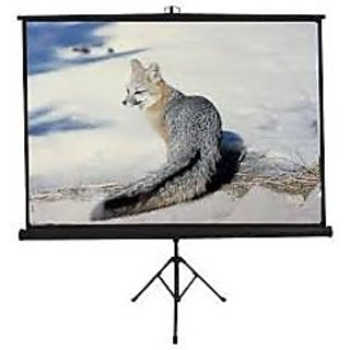 8x6 Tripod Type Projector Screen Size - 8 x 6 Ft. in High Gain Fabric(INLIGHT)