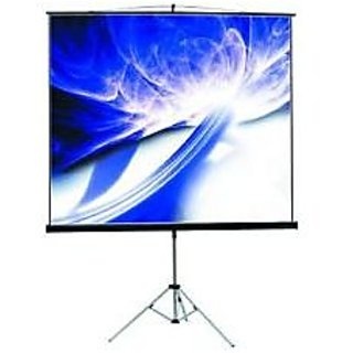 7x5 Tripod Type Projector Screen Size - 7 x 5 in High Gain Fabric(INLIGHT)