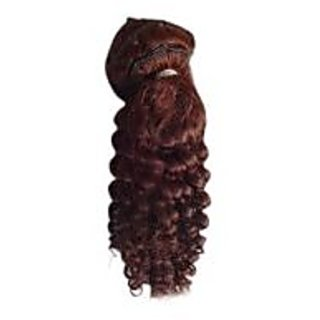 Curly Clip On Hair Extension (18 Inches)