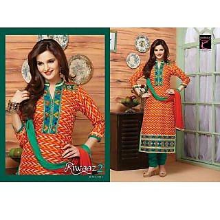Cotton chudidhar dress material (Unstitched)