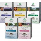 Set Of 5 - Tulsi Tea 18 Tea Bags Box