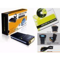 Usb 2.0 Uga To Dvi Vga Hdmi Multi Display Dual Monitor Converter Adapter Fy-1016