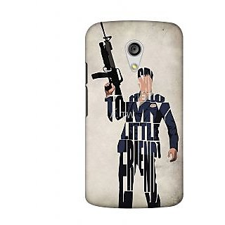 Say Hellow To My Little Friend Stylish Back Case Cover For Motorola Moto G2