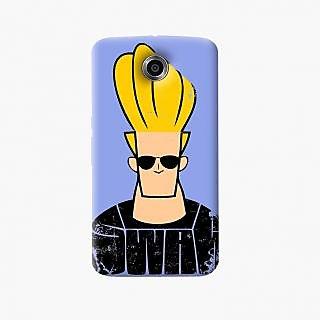 Jhonny Bravo Swag Hard Plastic Back Case For Google Nexus 6