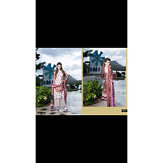 pakistani printed full suit (Unstitched)